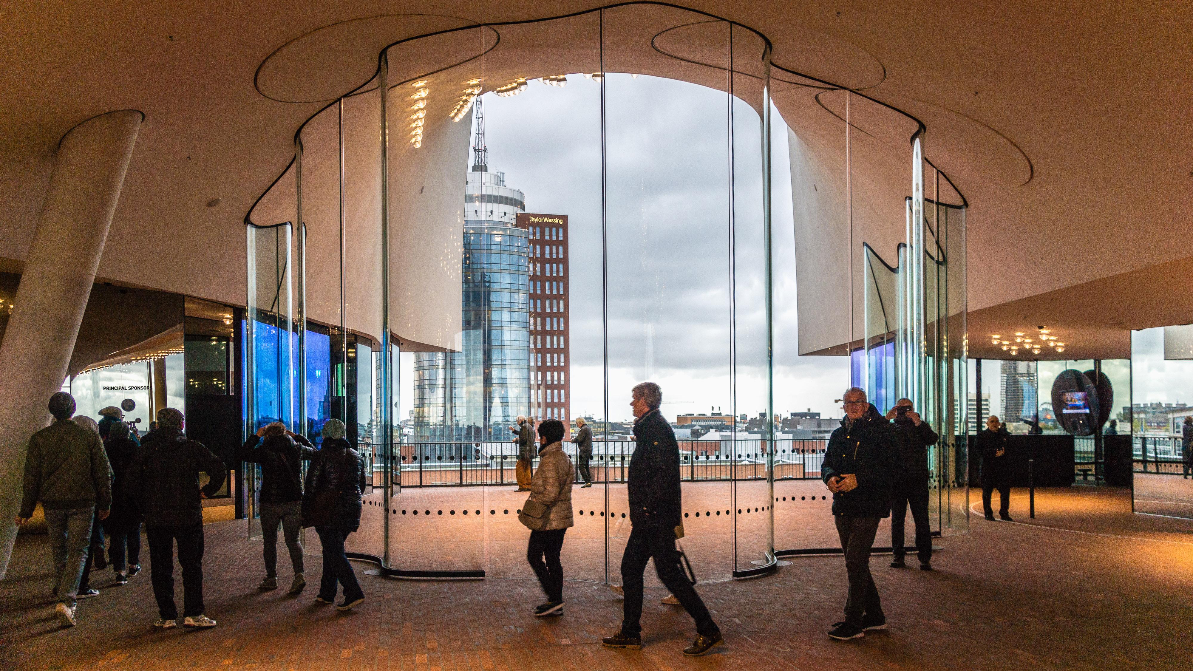 Uitkijkpunten in Hamburg, Elbphilharmonie | foto door Wilfried Schnetzler